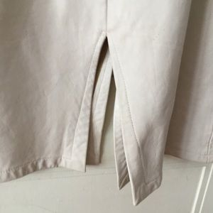 Gavin Brown London Skirts - White Leather Skirt